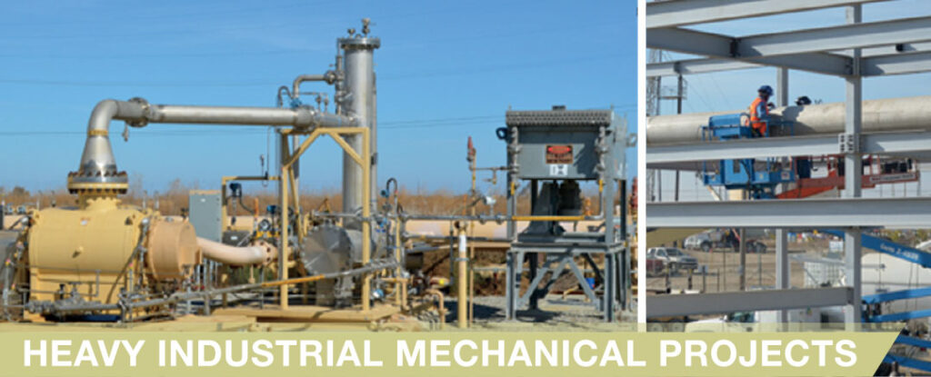 Heavy Industrial Mechanical Projects